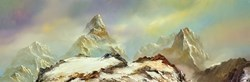 Snowy Path IV by Philip Gray -  sized 48x16 inches. Available from Whitewall Galleries